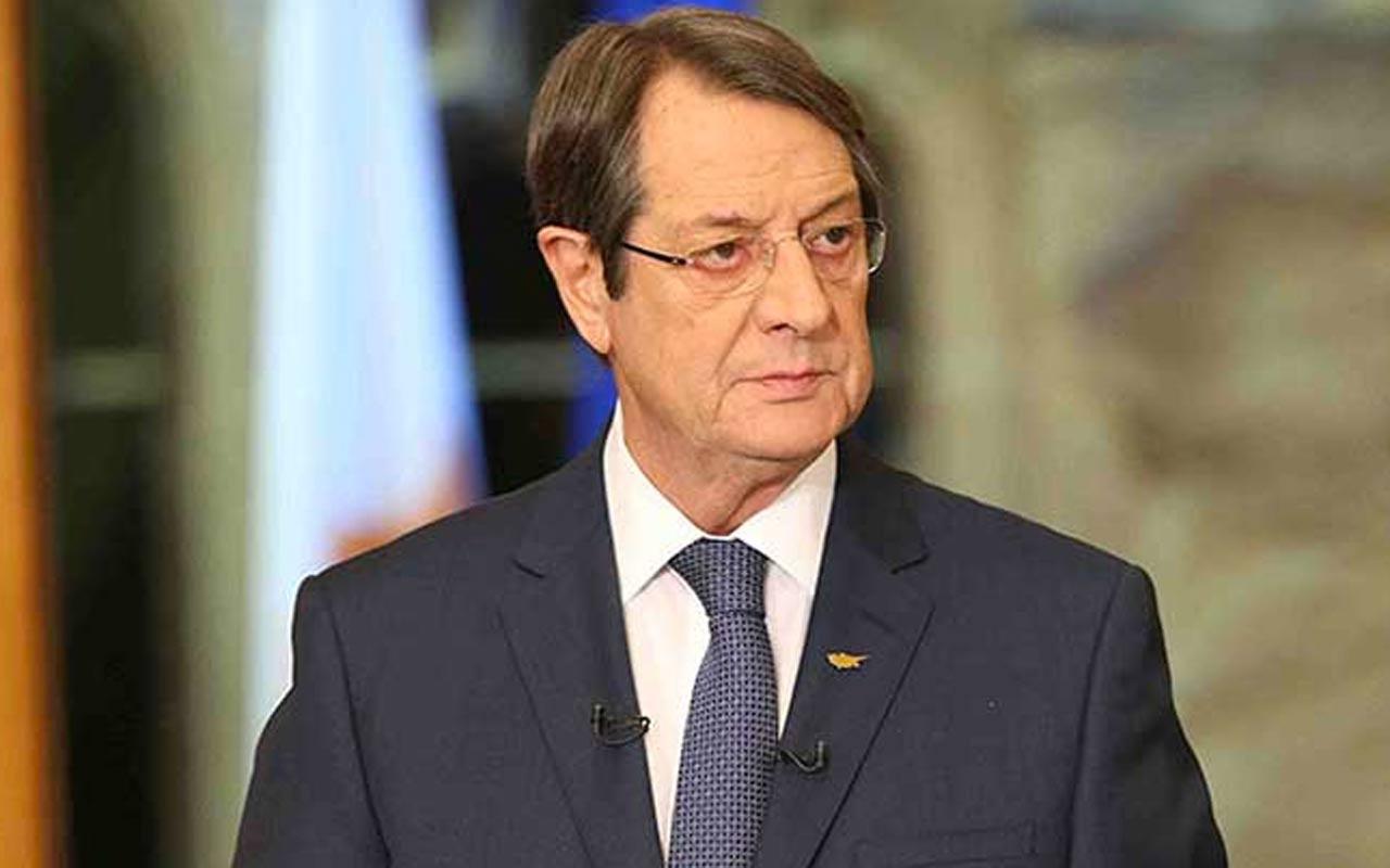 Rum lideri Nikos Anastasiadis KKTC'nin yeni Cumhurbaşkanı Tatar'ı tebrik etti