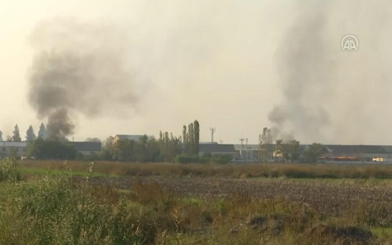 Ermenistan Azerbaycan kenti Terter'de fabrika vurdu! İşte son Karabağ haritası