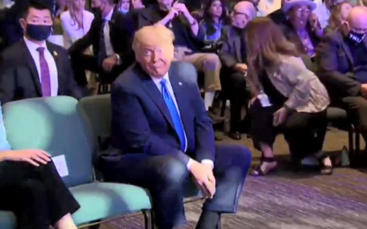 ABD başkanı Donald Trump seçimleri kazanması için kilisede kutsandı
