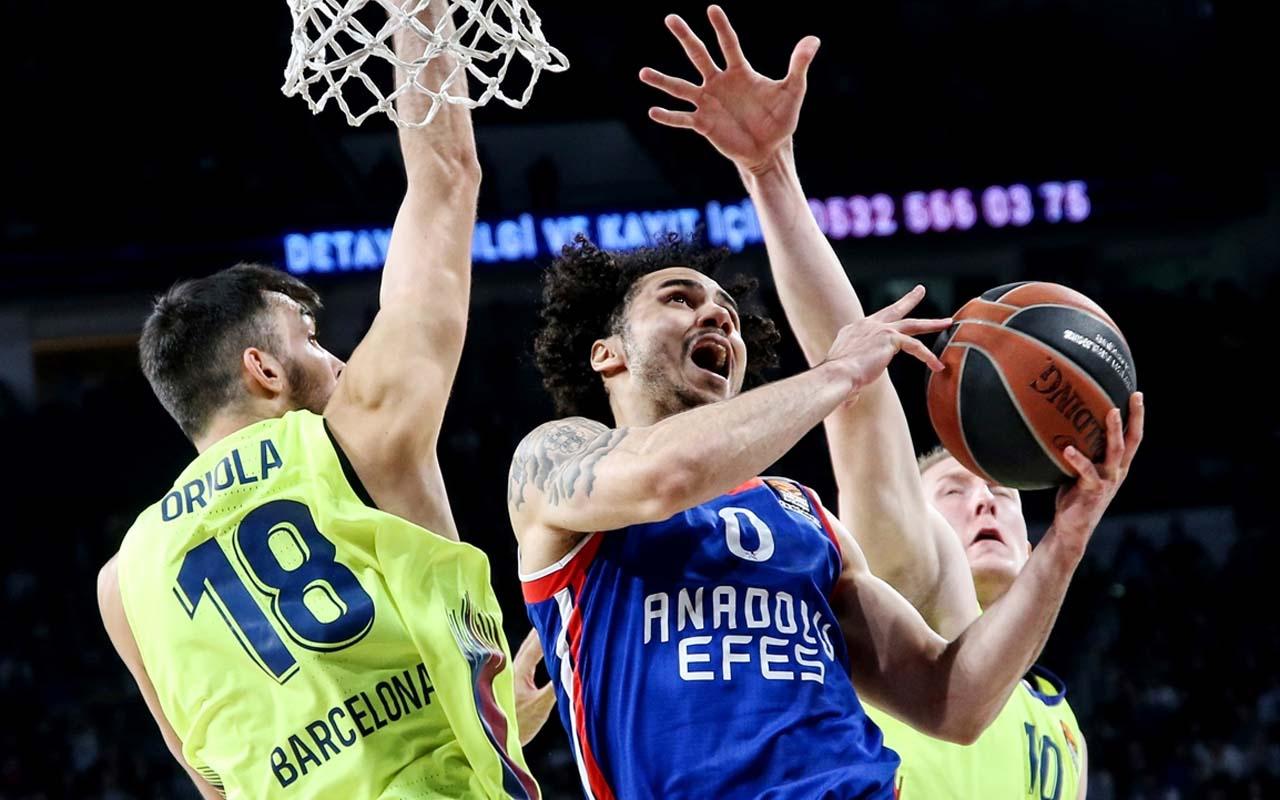 THY EuroLeague'de Anadolu Efes'in maçı ertelendi