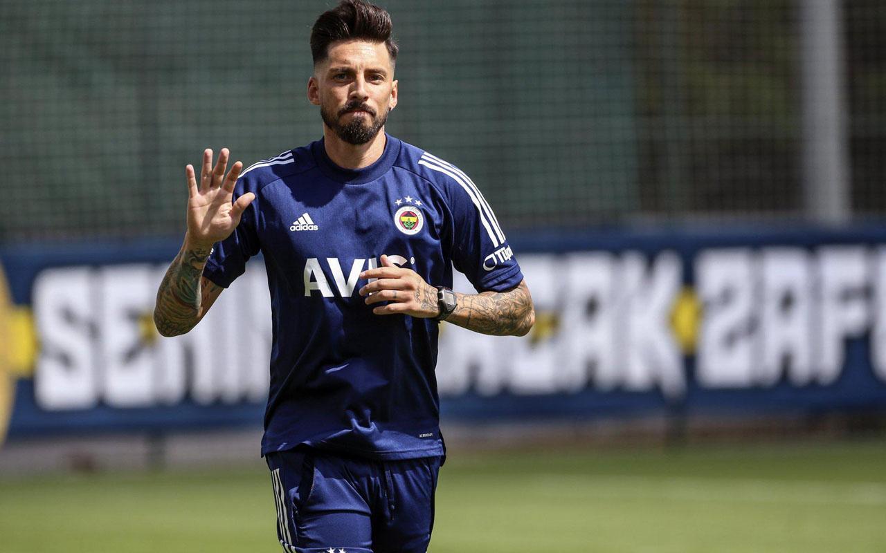 Fenerbahçe'de Jose Sosa, Trabzonspor maçında oynayacak mı?