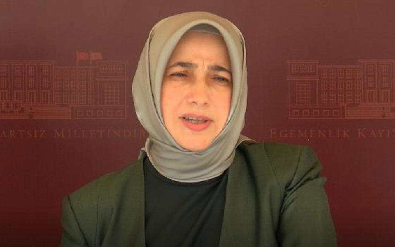 AK Partili Özlem Zengin'den HDP'li Remziye Tosun'a kınama