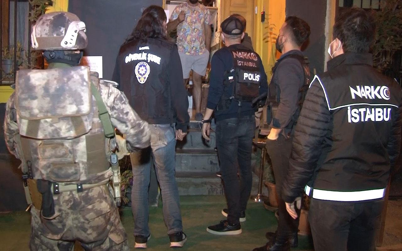 Beyoğlu'nda 'Çukur'a şafakta uyuşturucu baskını! Çok sayıda gözaltı var