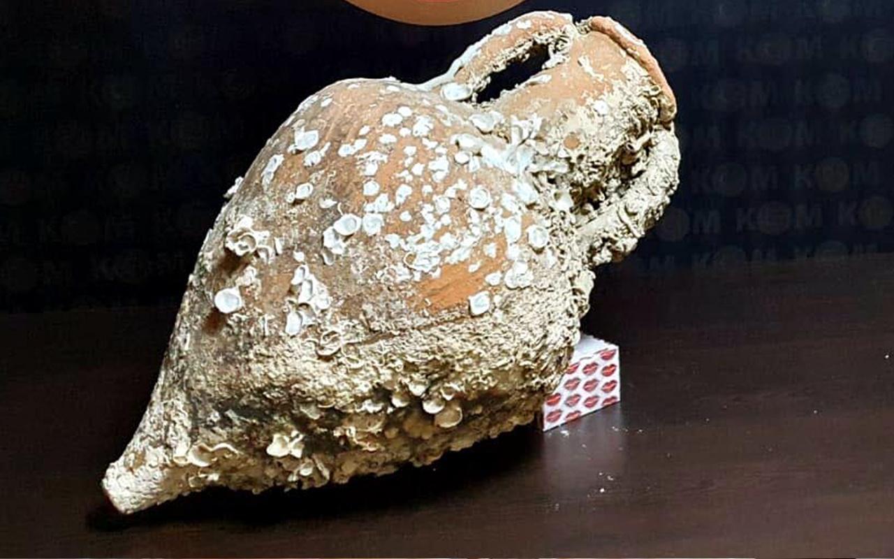İzmir'de baskında ele geçirildi! Binlerce yıllık olduğu ortaya çıktı