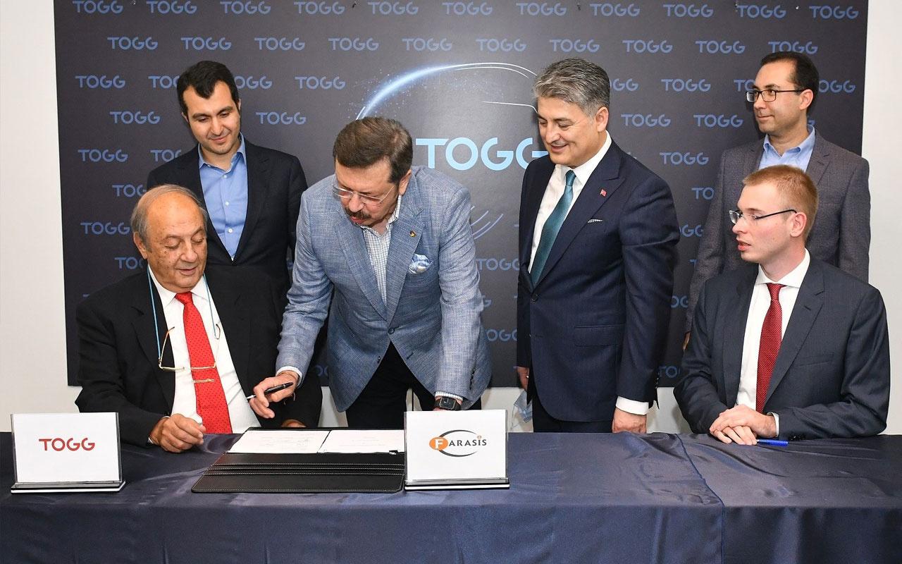 Son dakika Yerli otomobil TOGG'un pilleri de Türkiye'de üretilecek imzalar atıldı