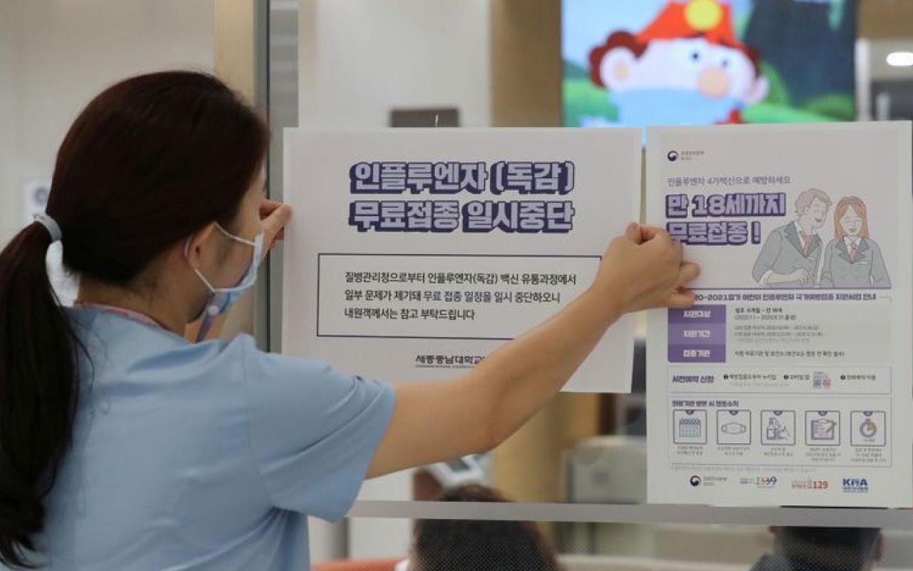 Güney Kore'de alarm! Grip aşısı olan 5 kişi hayatını kaybetti
