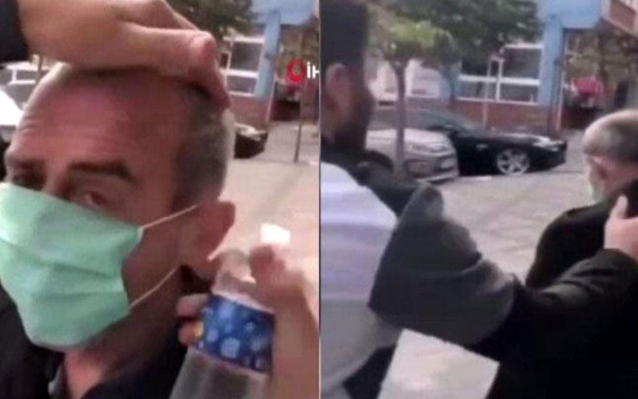 İhsan Öztürk'ün başına zorla kolonya dökmüştü! 5 yıla kadar hapis cezası istendi