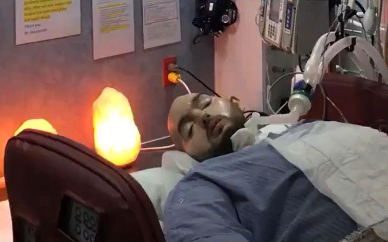 15 yıldır komada olan Suudi Prens Halid Bin Talal elini oynattı