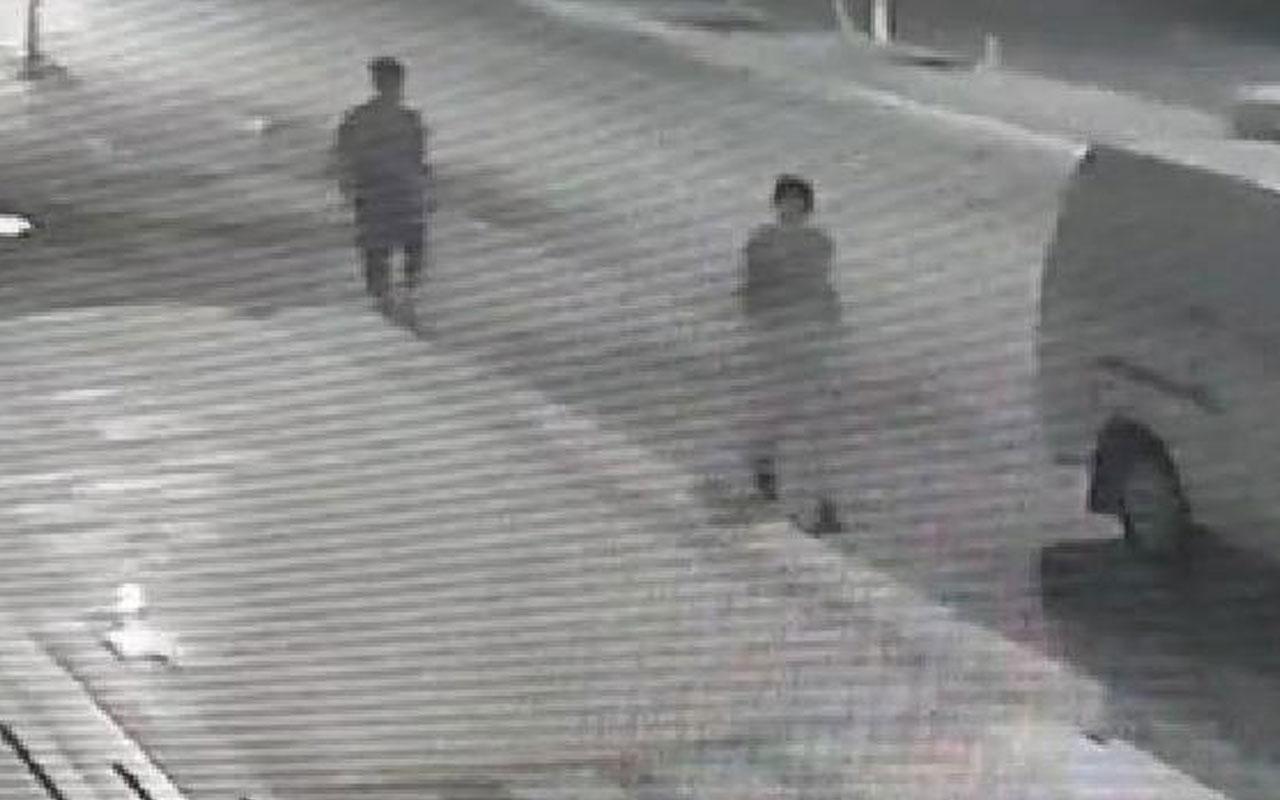 Adana'da adım adım taciz! Güvenlik kamerasından yakalandı