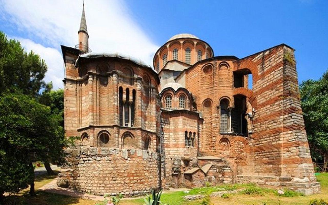 Kariye Camii'nde ilk namaz 30 Ekim'de yapılacak Erdoğan da katılacak