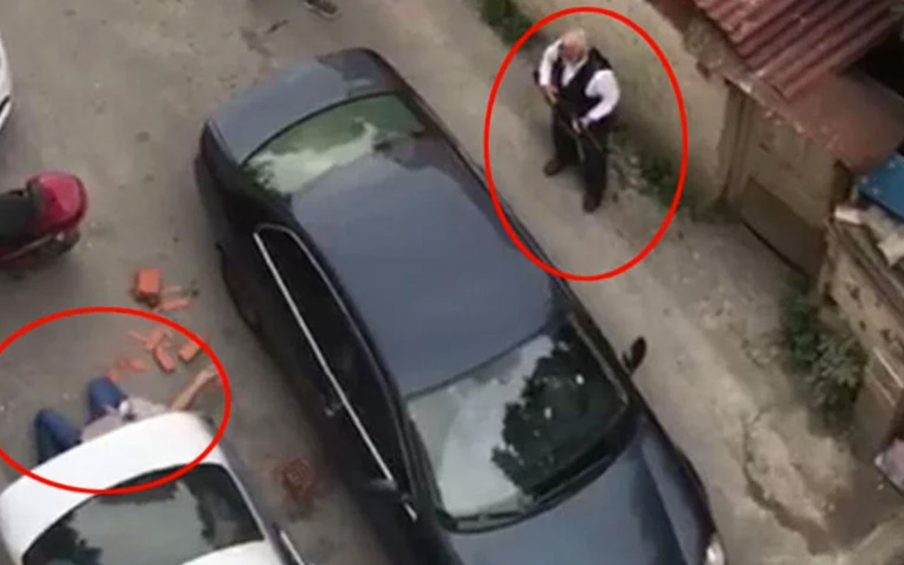 Beyoğlu'nda iki aile arasında çatışma çıkaran mesaj ölü ve yaralılar var