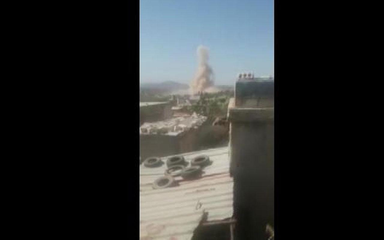 İdlib'te bir köy bombalandı! Yaralılar var