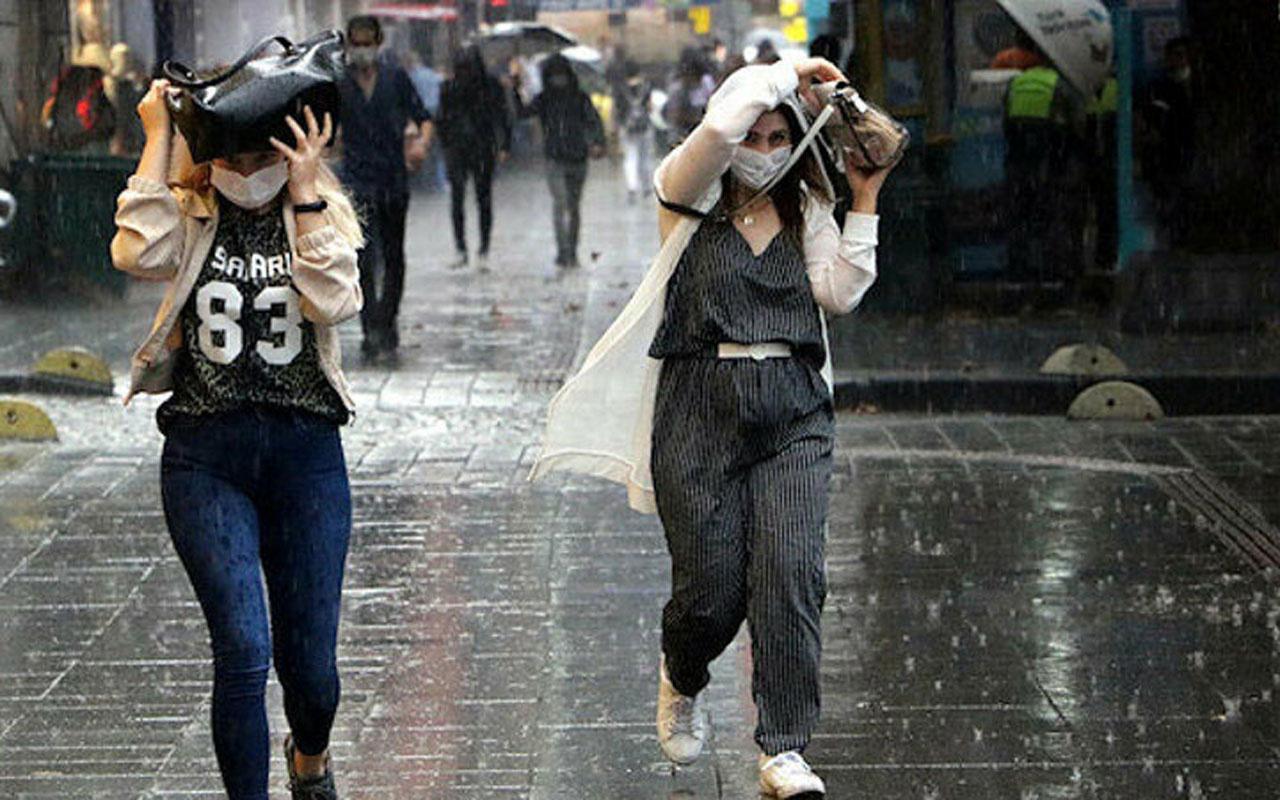Meteoroloji 4 bölge için sağanak uyarısı geçti! Kaç gün sürecek ne zaman başlayacak?