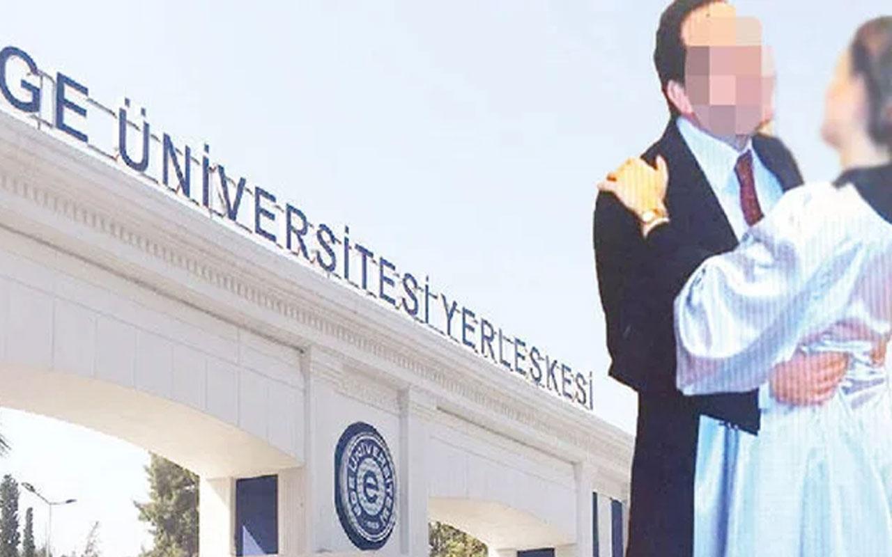 Ege Üniversitesi'nde profesöre taciz suçlaması! Yeniden şikayet ettiler