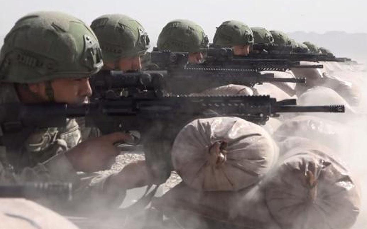 TSK'nın 'Ateş Serbest-2020' faaliyeti nefes kesti! Yeni silahlar ilk kez kullanıldı