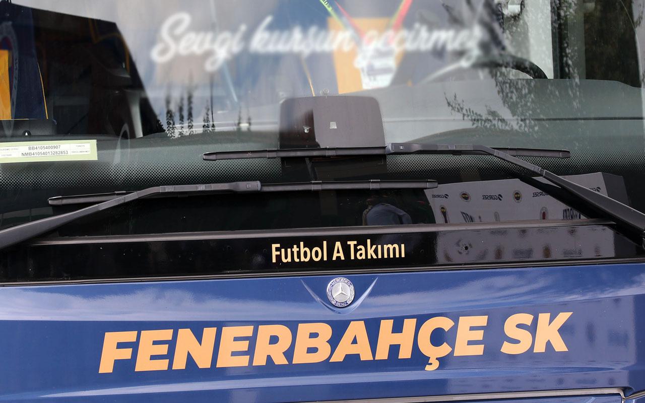 Fenerbahçe'nin yeni takım otobüsünde dikkat çeken detay