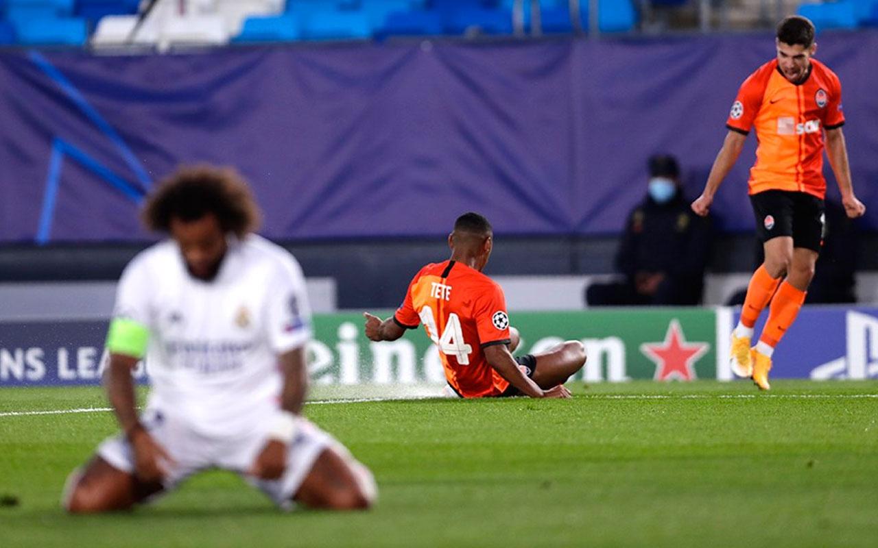 Eksik Shakhtar Donetks Real Madrid'i hezimete uğrattı