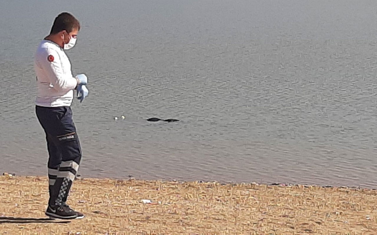 Çorum'da baraj gölünde kıyıya vurmuş bir ceset bulundu