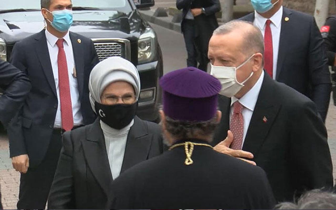 Markar Esayan'ın cenaze törenine Cumhurbaşkanı Erdoğan da katıldı
