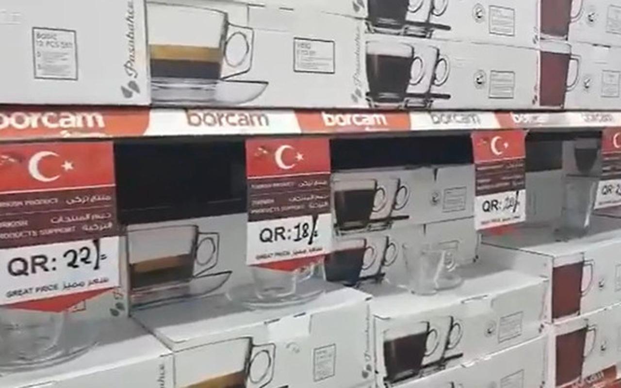 Katar Türkiye'ye destek kampanyası başlattı: Sadece Türk ürünleri alın