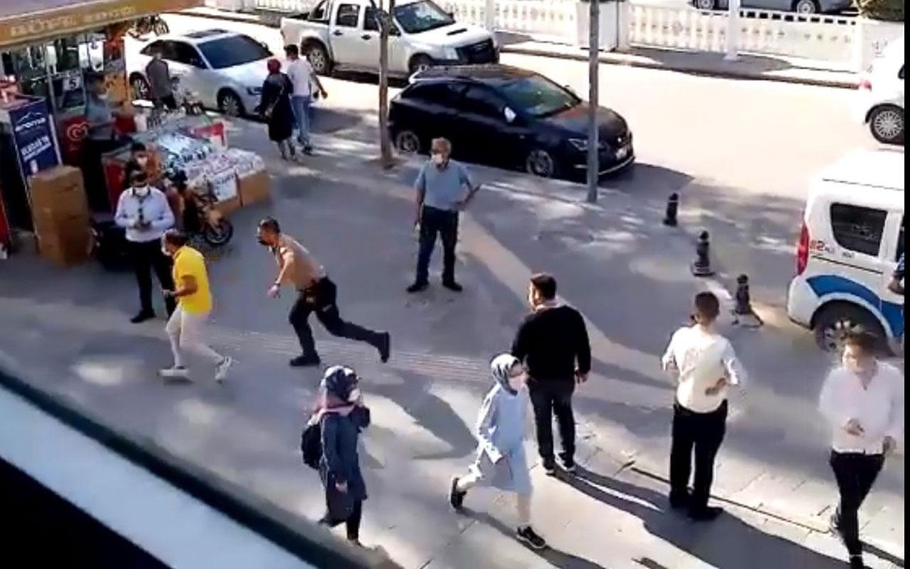 Maskesini doğru takmayınca polis durdurdu para cezasından kaçarken yakalandı
