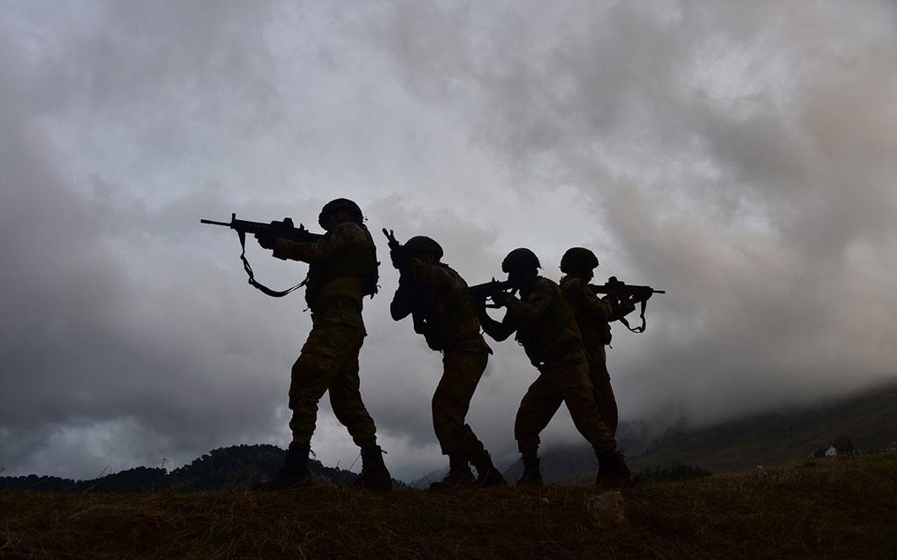Barış Pınarı bölgesine sızma girişiminde bulunan 3 terörist öldürüldü