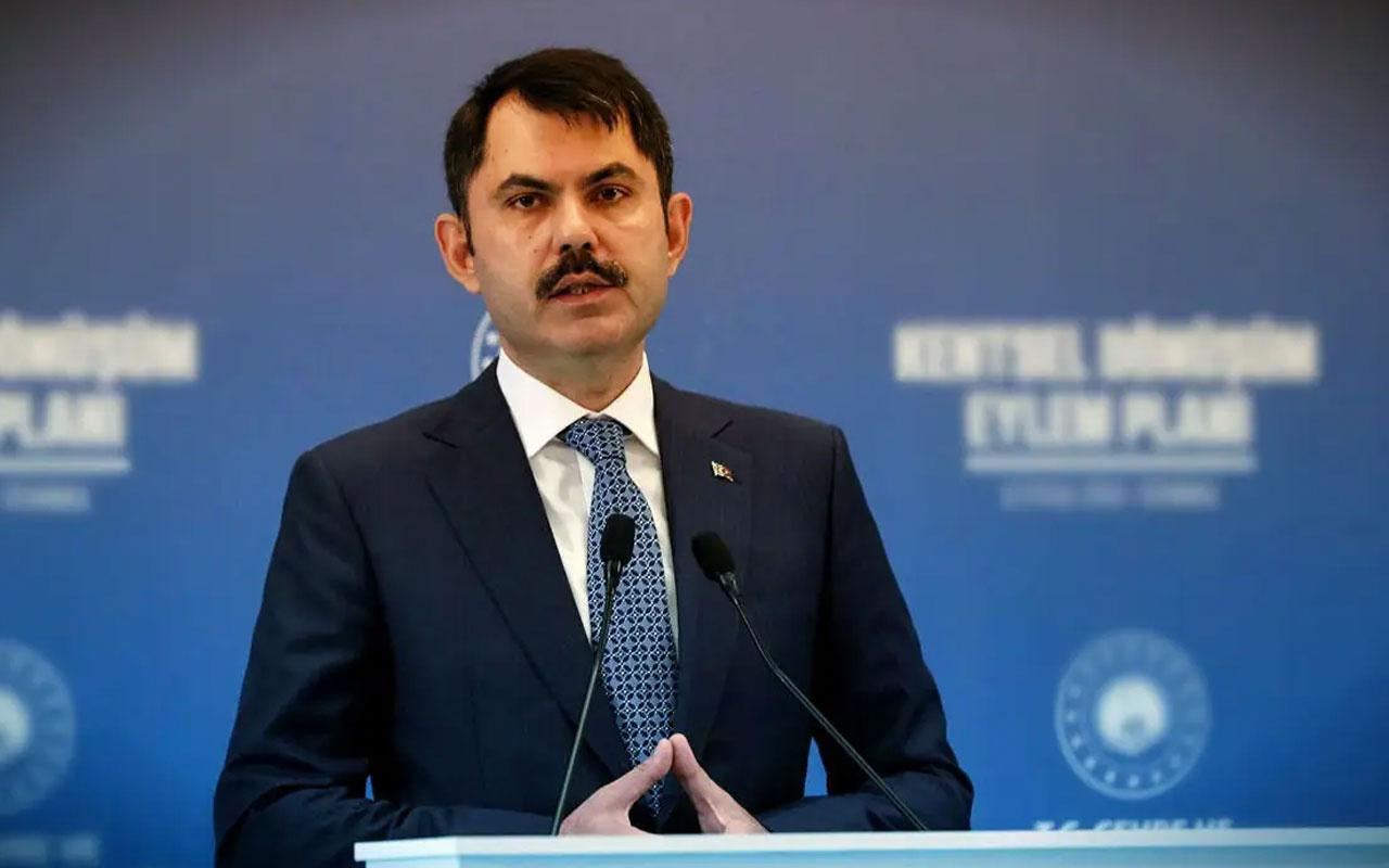 Bakan Murat Kurum: 77 ilimizde 270 millet bahçesi yapıyoruz