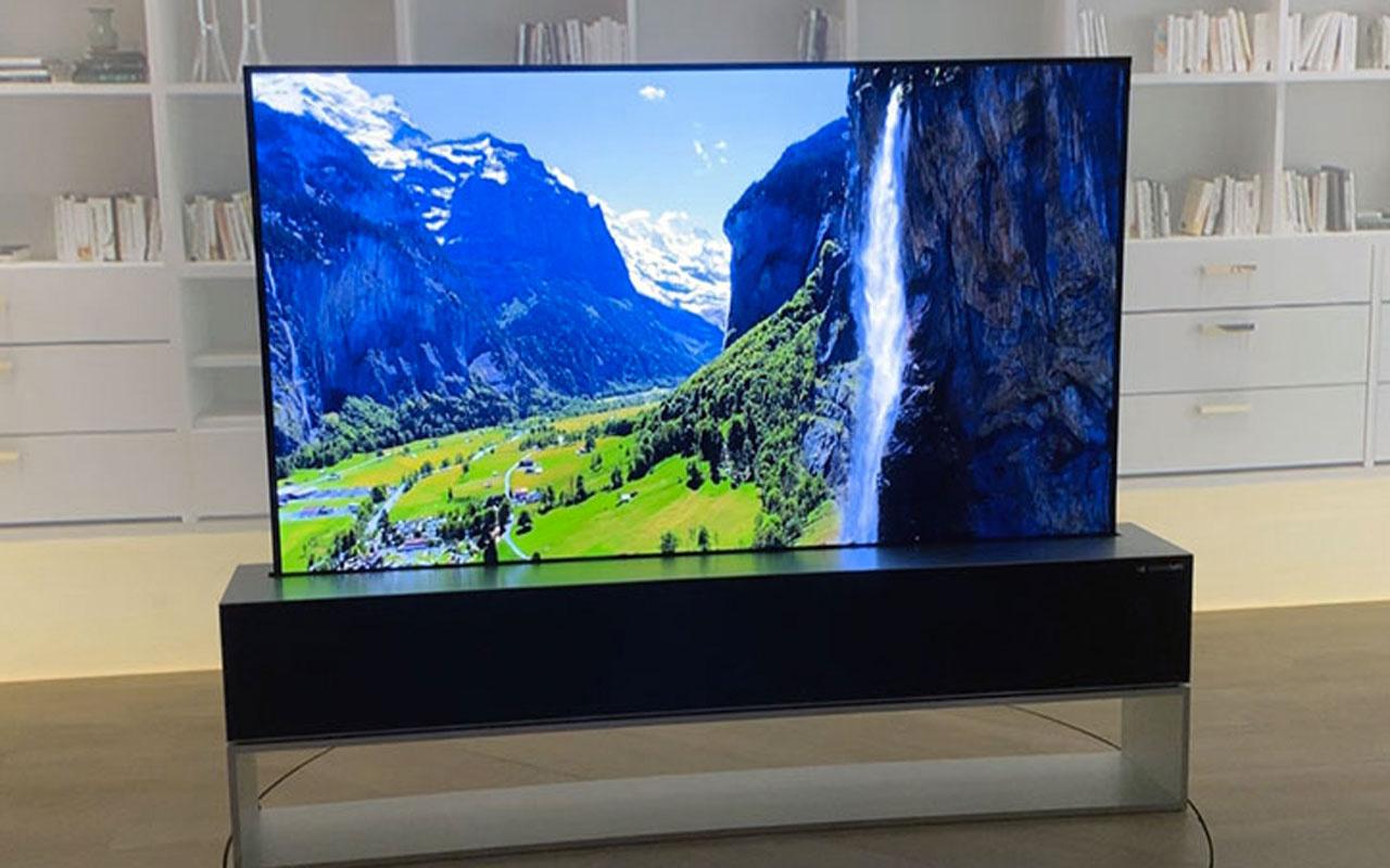 LG'nin kıvrılabilir Oled TV'si 87 bin dolar fiyatla satışa sunuldu