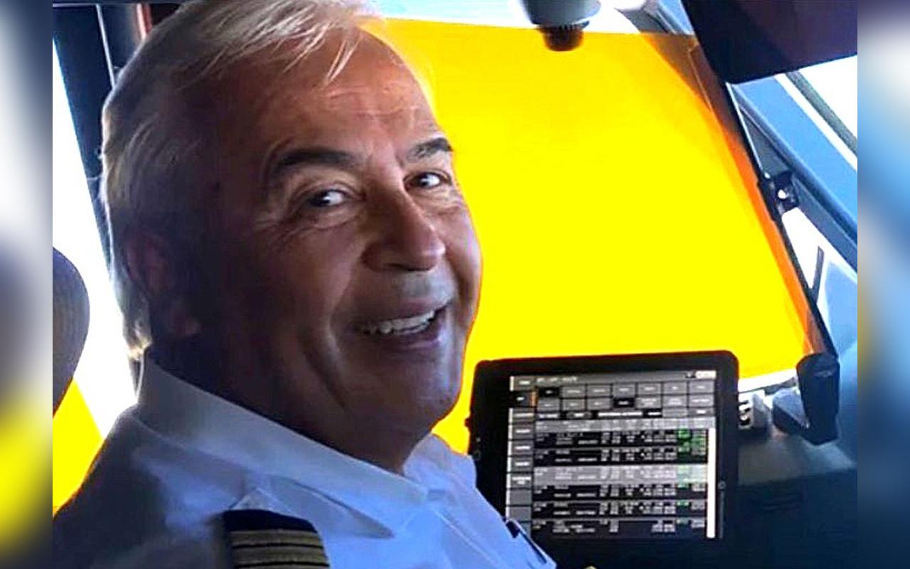 İzmir'de emekli kaptan pilot korona virüse yenik düştü