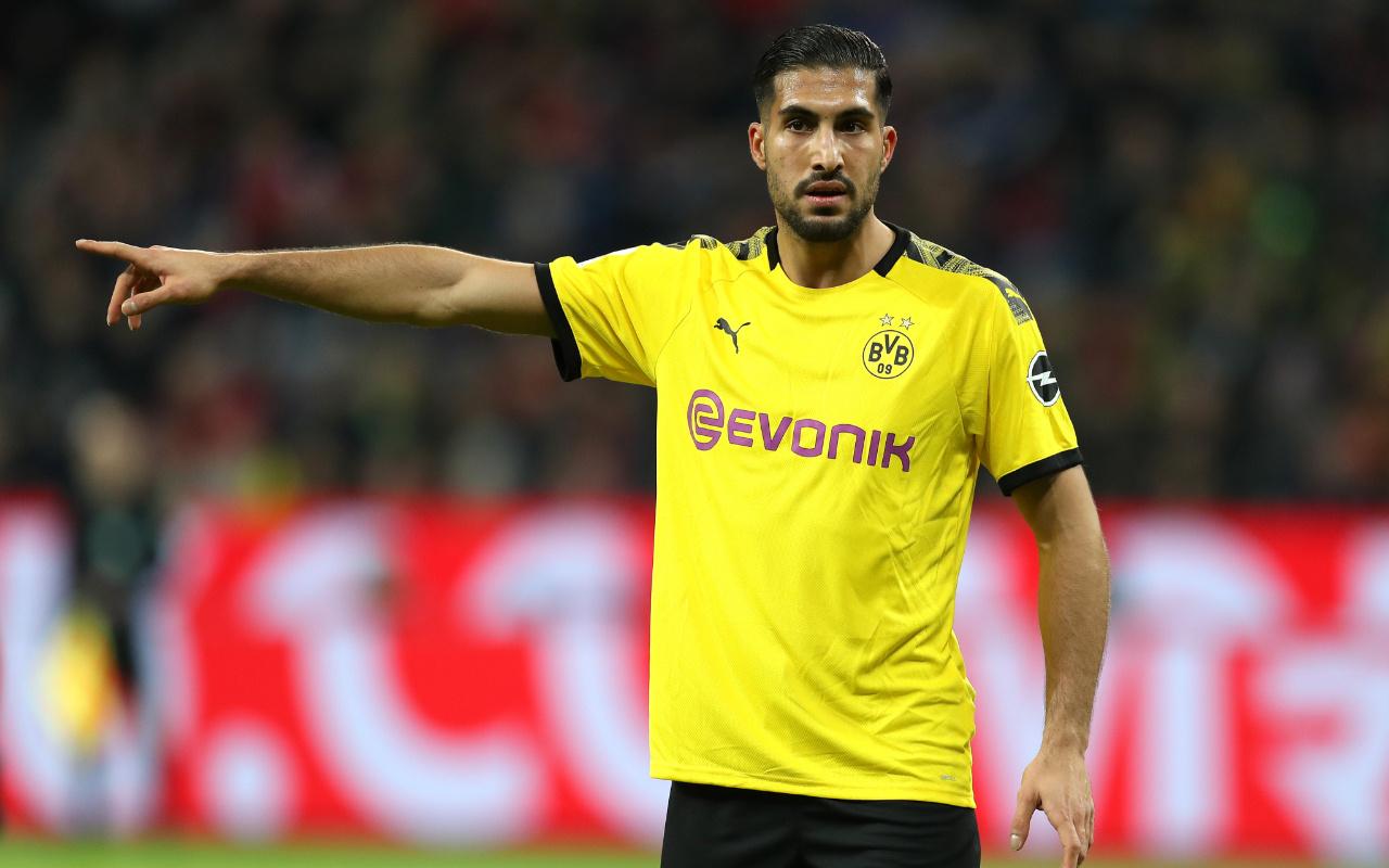 Borussia Dortmund'da forma giyen Emre Can koronavirüse yakalandı