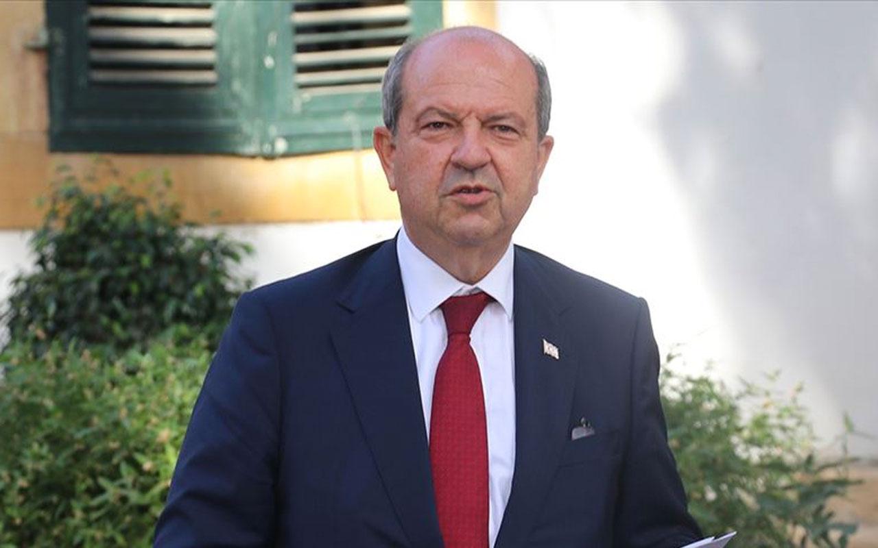 Ersin Tatar Cumhurbaşkanlığı görevine ant içerek başladı