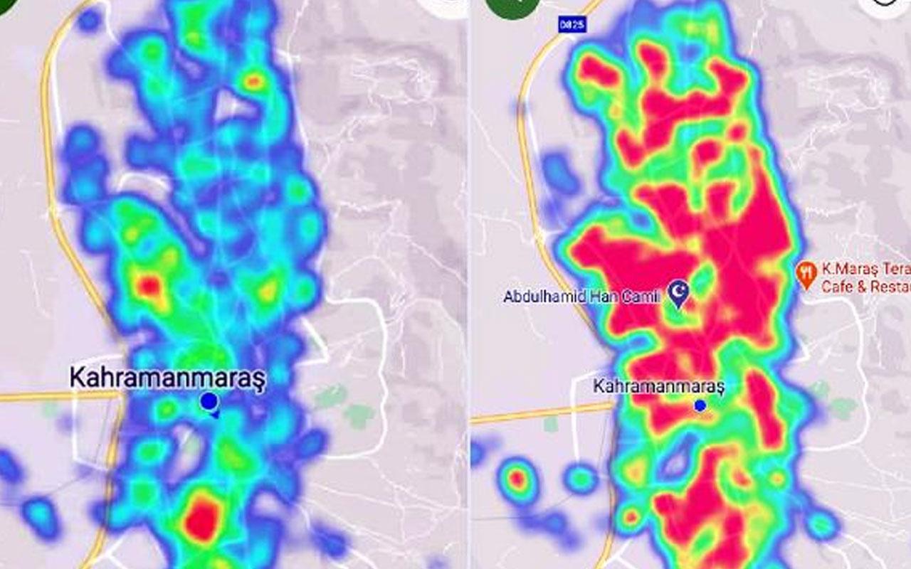 Kahramanmaraş'taki son durum korkuttu! HES haritası 2 ayda kızardı