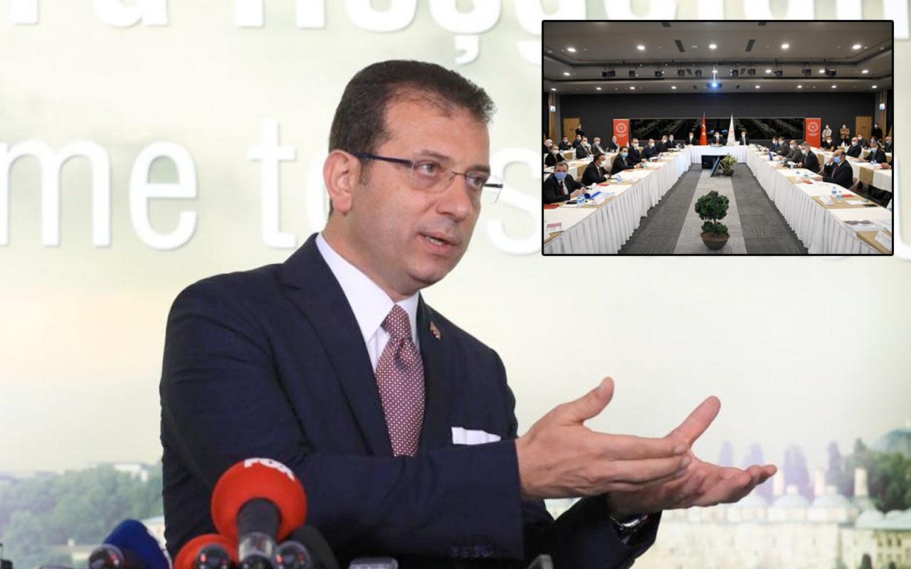 İstanbul'daki toplantıya çağrılmayan Ekrem İmamoğlu'ndan ilk tepki