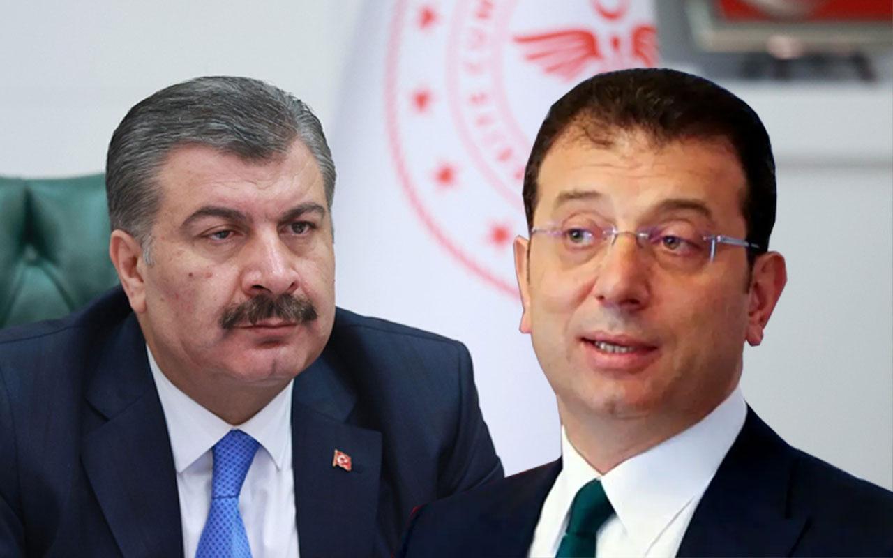 Sağlık Bakanı Fahrettin Koca, koronavirüs toplantısına çağrılmayan İmamoğlu'yla görüşecek