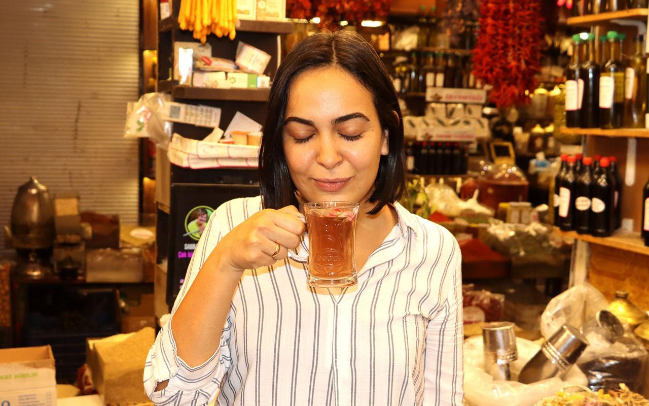 Kış hastalıklarına karşı 'Osmanlı çayı' hazırladı 100 gramı 10 lira