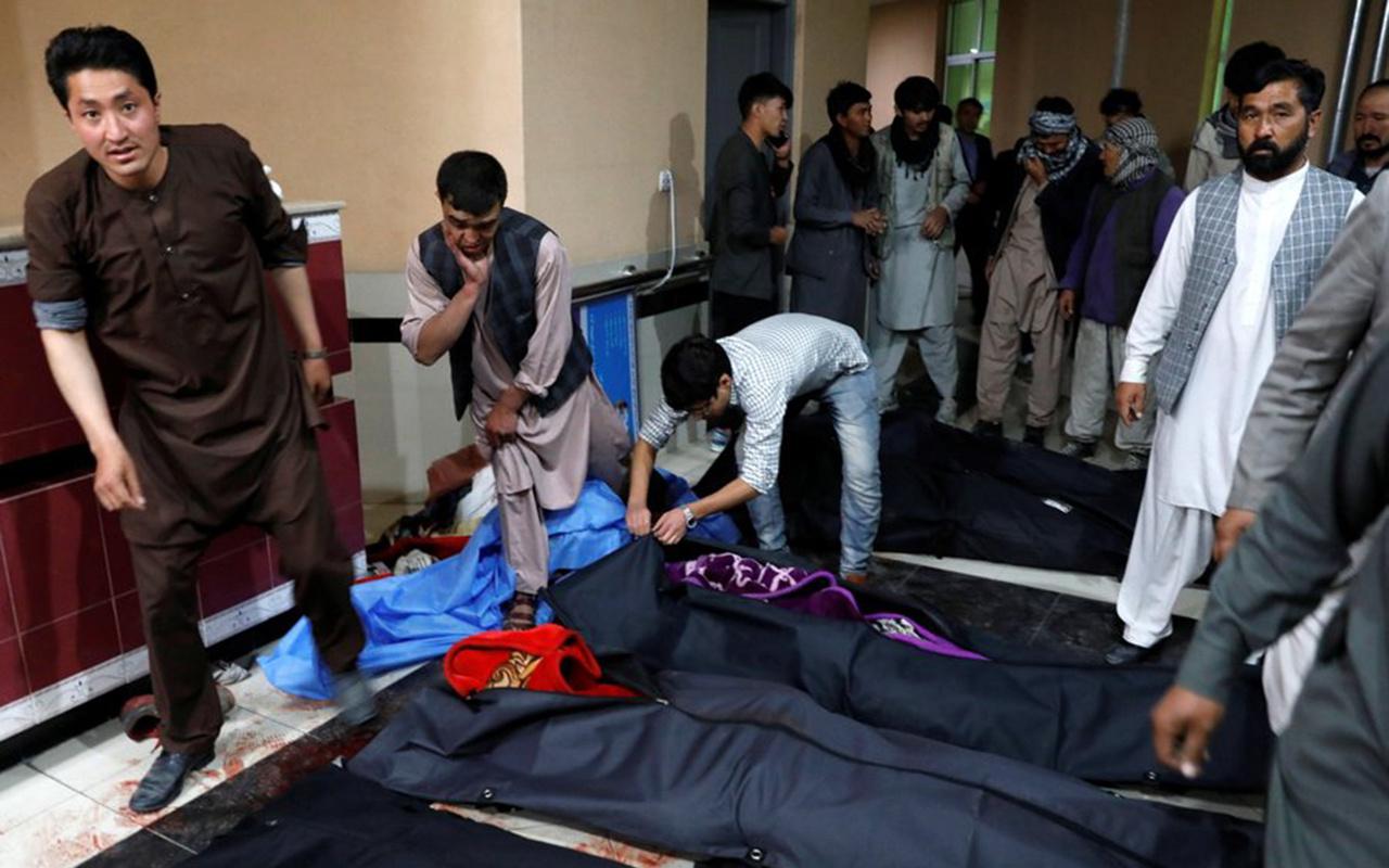 Afganistan'da IŞİD eğitim merkezine intihar saldırısı yaptı! Çoğu öğrenci 18 ölü 57 yaralı