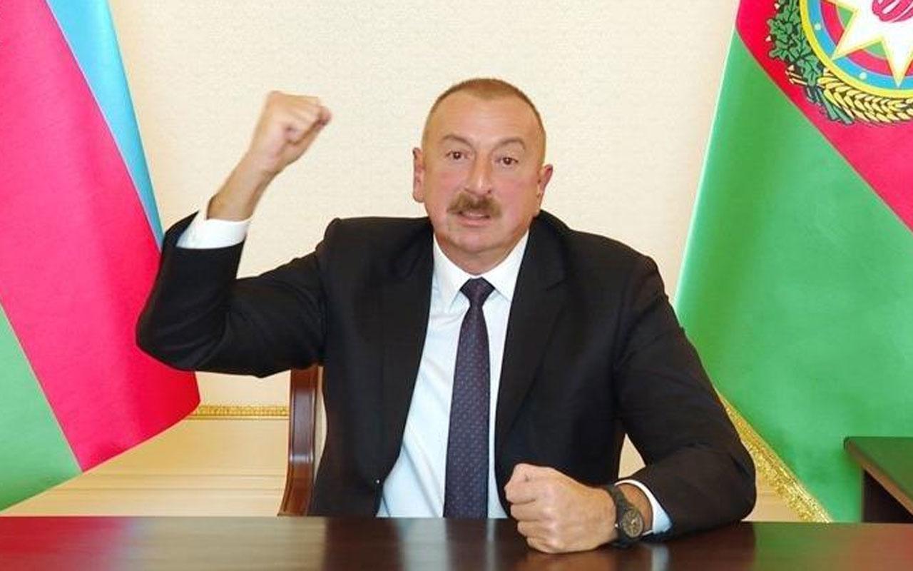İlham Aliyev: Ermenistan'a bedava silah veriliyor