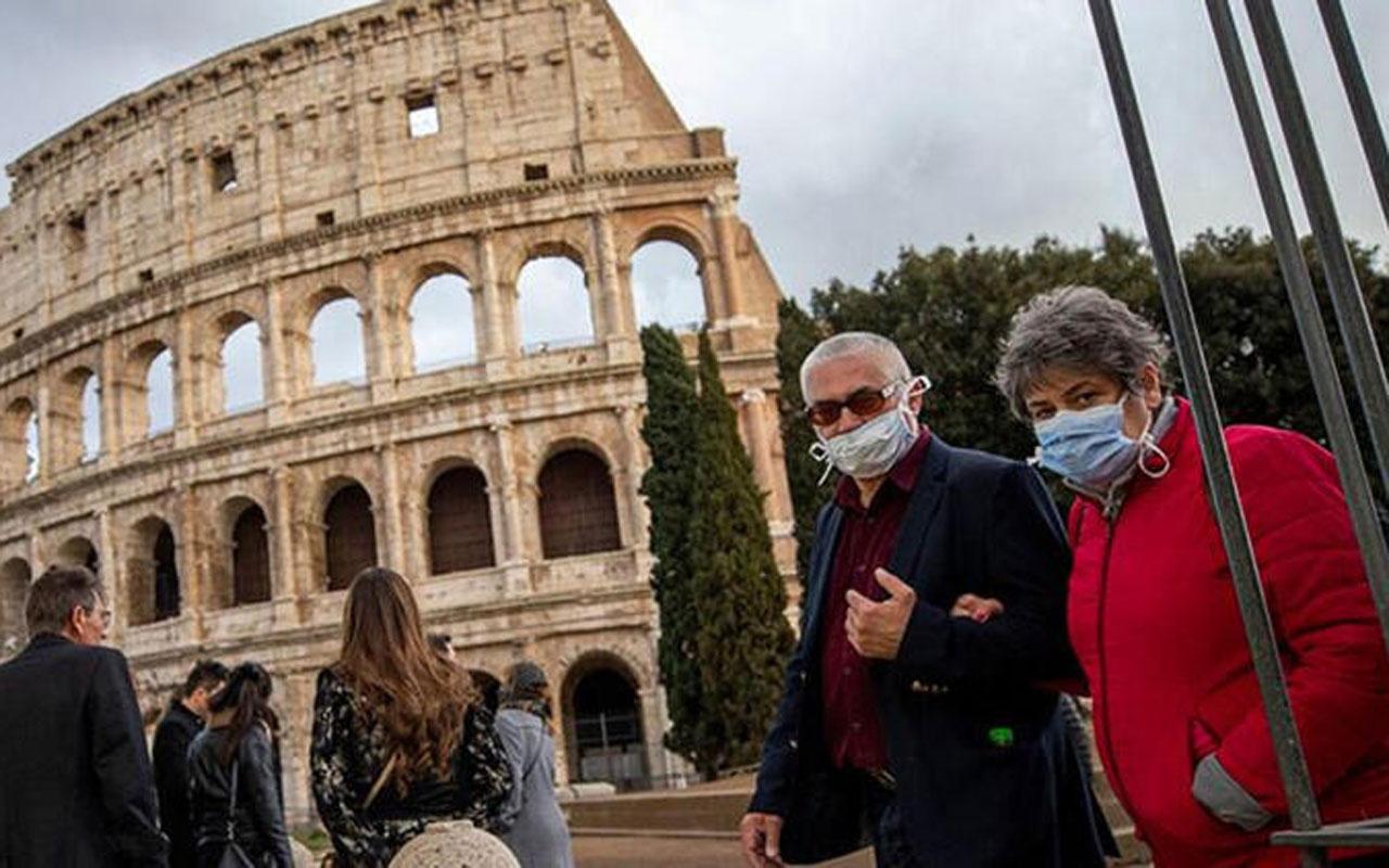 İtalya'da koronavirüs vakalarında yeni rekor