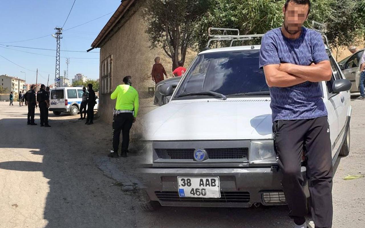 Kayseri'de yürek yakan olay! Oğlunu ezdi 25 metre sürükledi