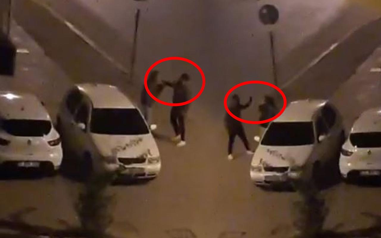 Antalya'da sokak ortasında genç kıza tokat atınca ortalık karıştı! Mahalleliyi ayağa kaldırdı