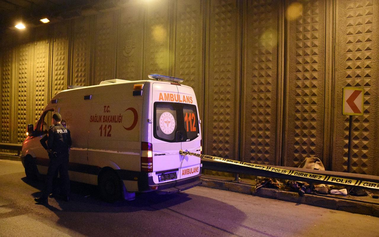 İstanbul'da ceset şoku! Köprü altında bulundu
