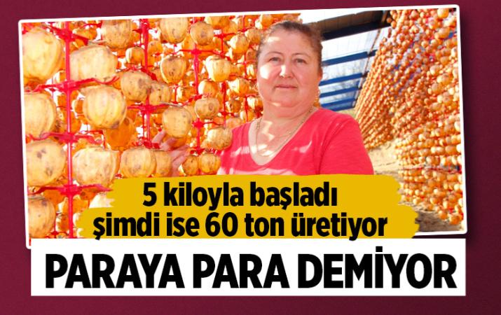 İzmirli kadın 5 kiloyla başladı 60 ton üretiyor! Paraya para demiyor