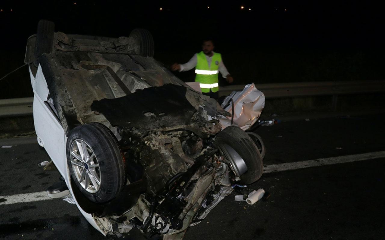 Osmaniye'de iki otomobil çarpıştı! Feci kazada 2 ölü, 9 yaralı var