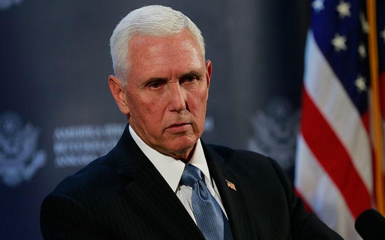 ABD Başkan Yardımcısı Mike Pence'in özel kalemi ve danışmanı Kovid-19'a yakalandı