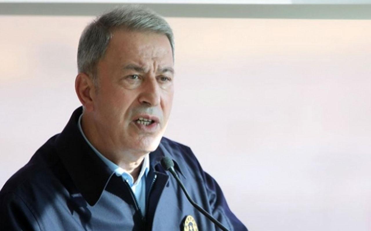 Bakan Hulusi Akar'dan Libya açıklaması: Bu sorunun askeri bir çözümü yok