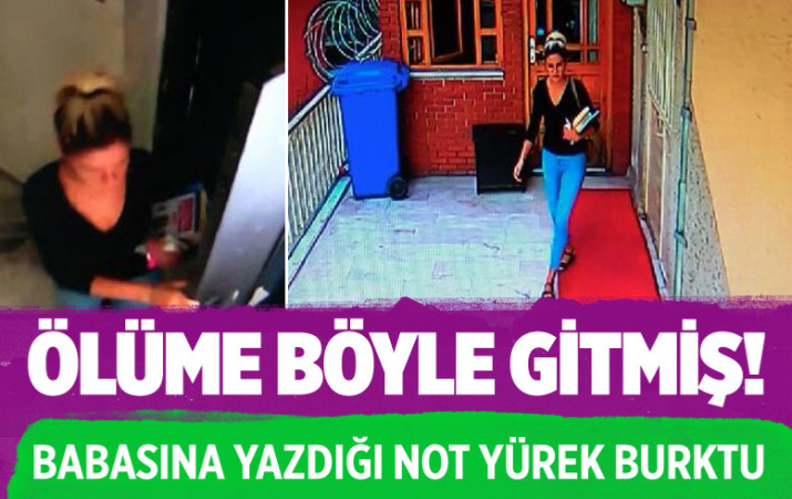 Diyarbakır'da Melek Arslan'ın son görüntüsü ortaya çıktı! Babasına yazdığı not yürek burktu