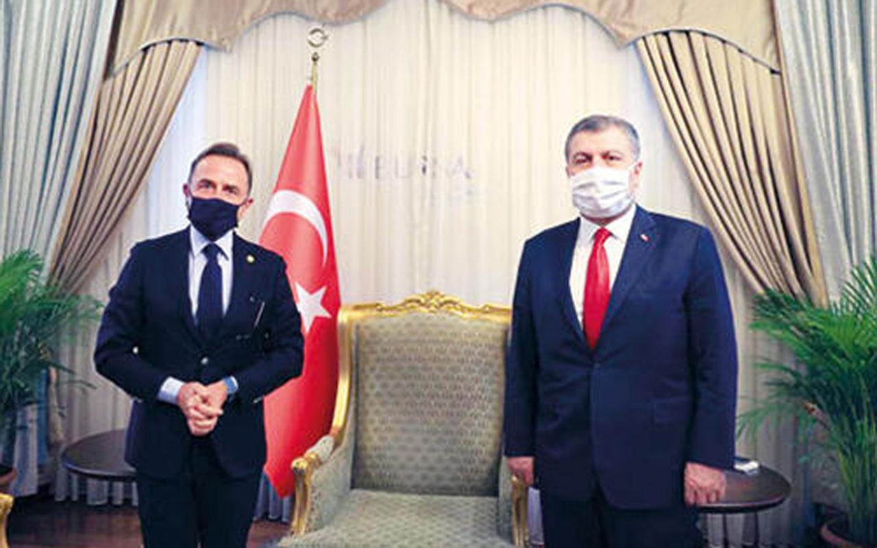 Prof. Dr. Osman Müftüoğlu, Sağlık Bakanı ile görüştü! Koronavirüs aşısı Aralık'ta Türkiye'ye gelecek