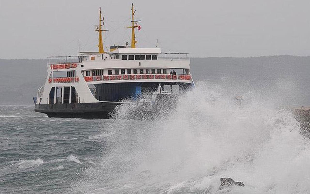 İstanbul'da hava muhalefeti vapur seferlerine sis engeli
