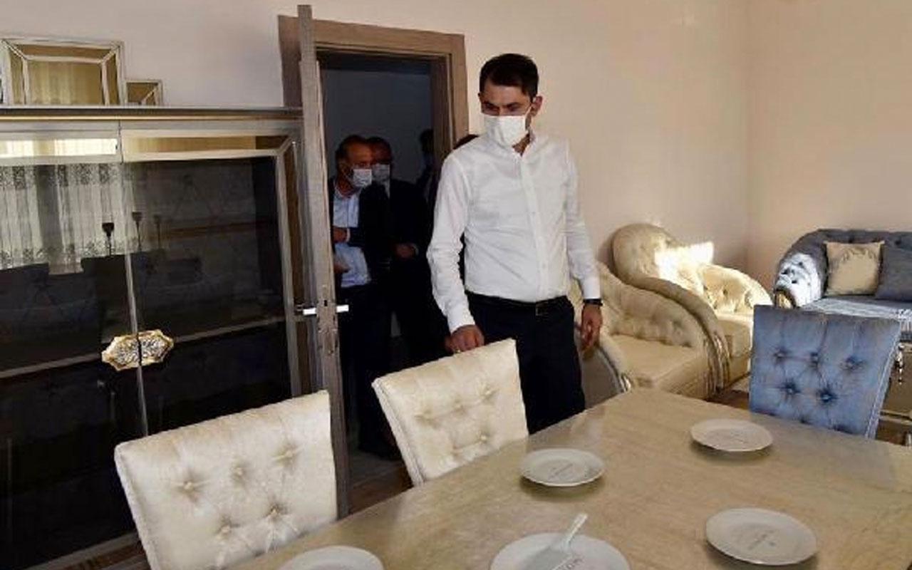 Bakan Murat Kurum: Elazığ'da yıl sonuna kadar 8 bin konutu teslim edeceğiz