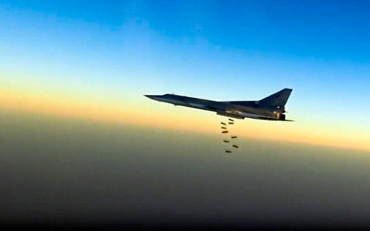 Son dakika Rus savaş uçakları İdlib'i vurdu! Onlarca ölü var...